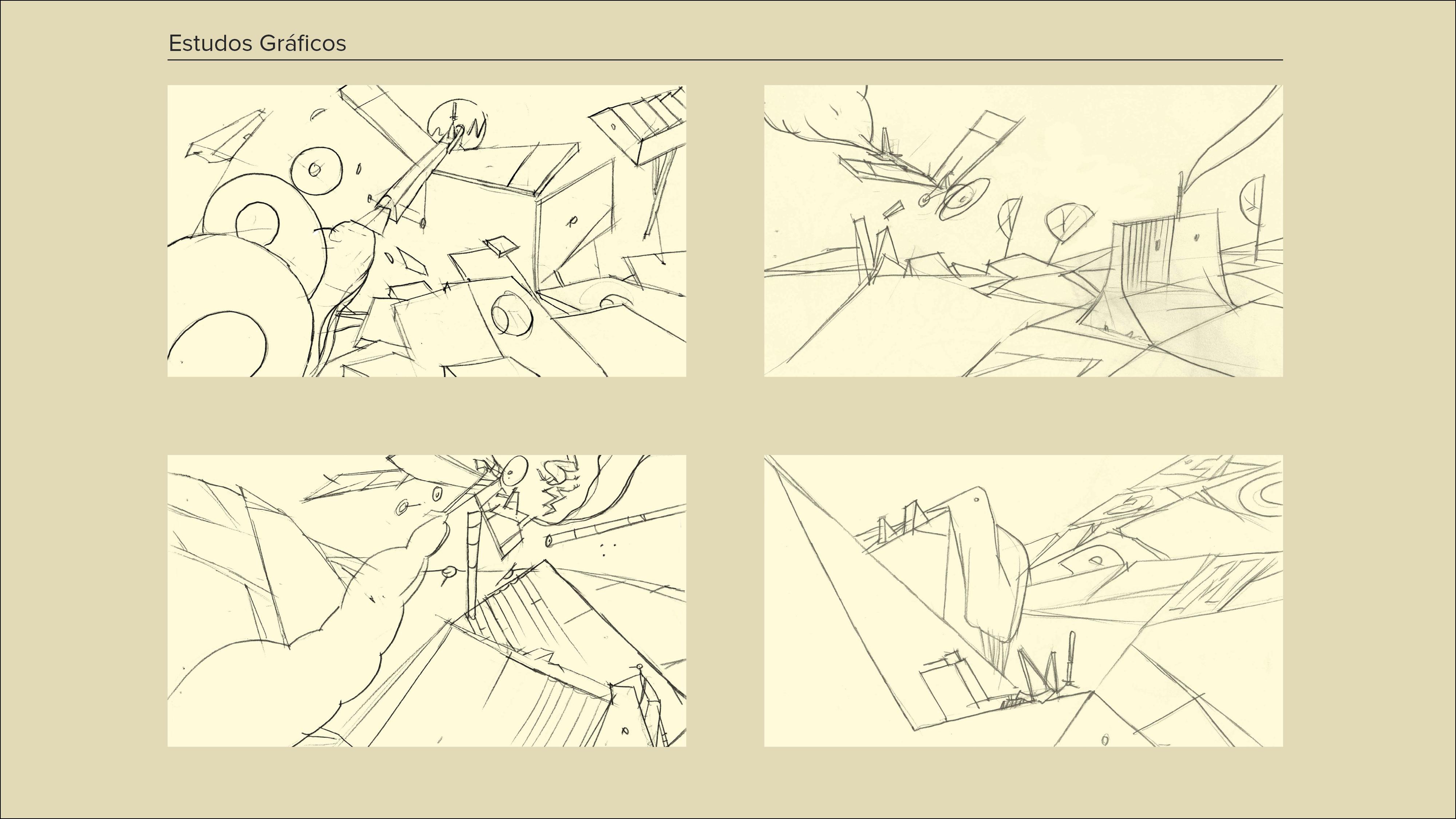Montagem Desenhos a Cinzento10