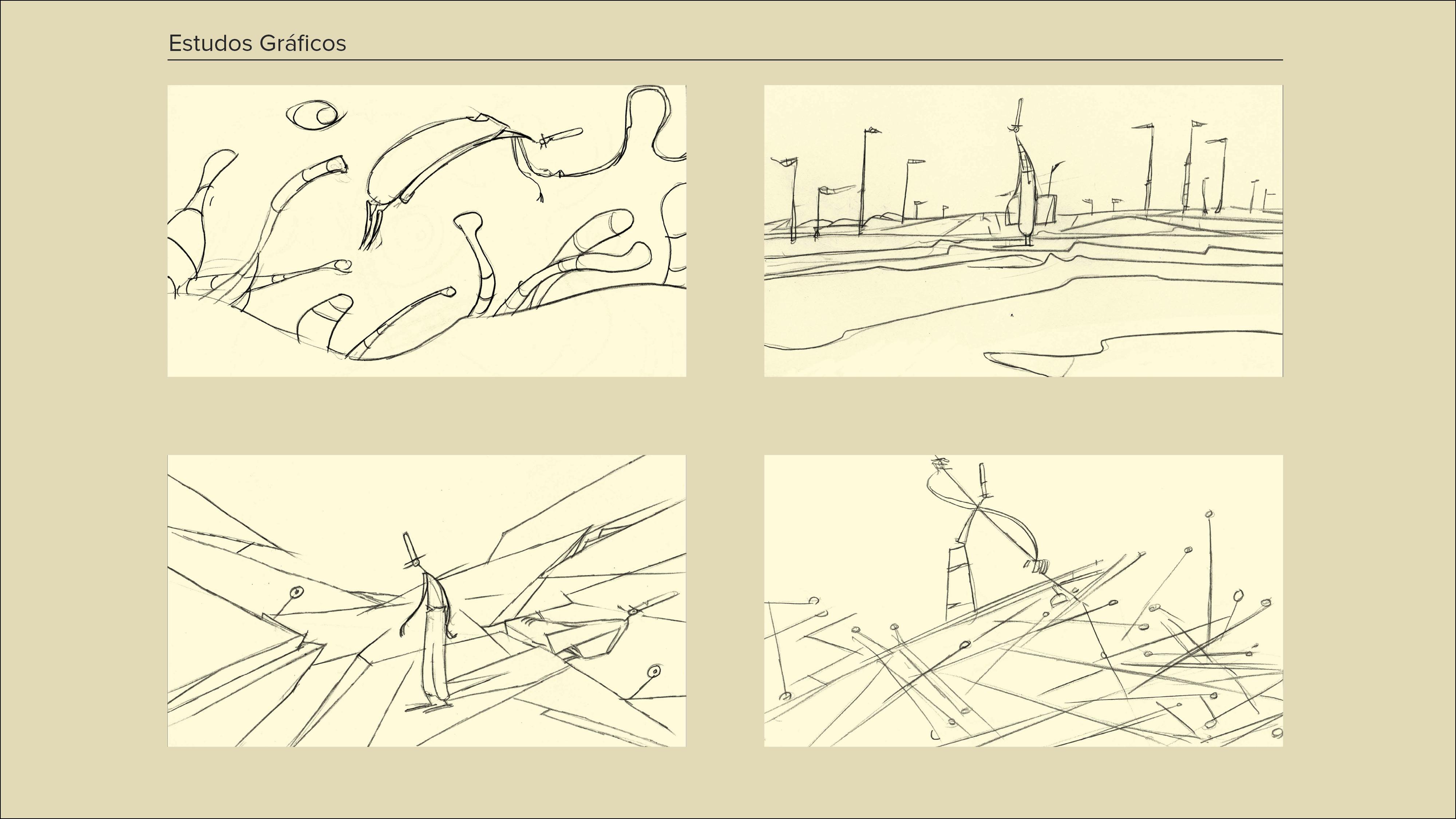 Montagem Desenhos a Cinzento3