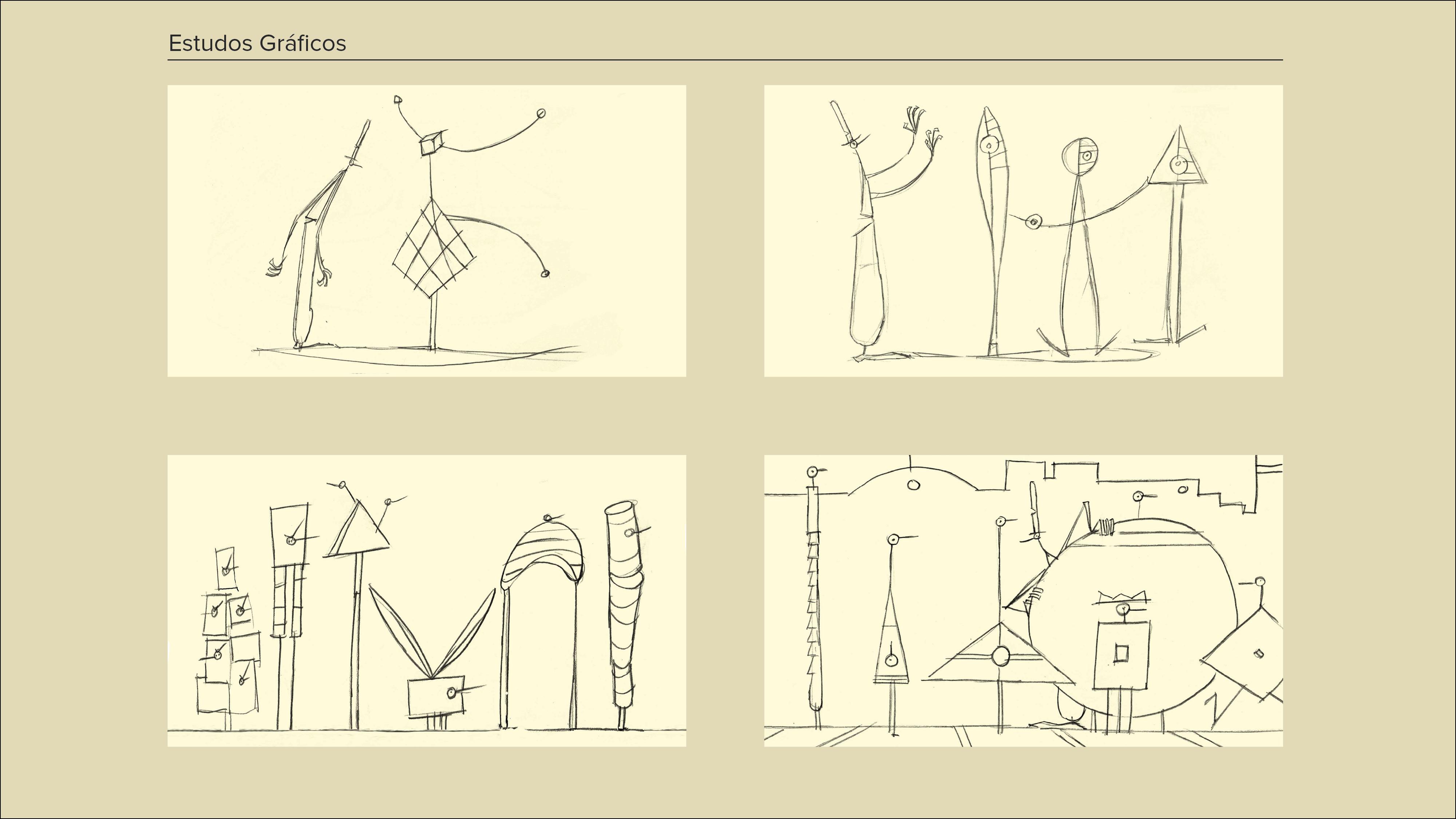 Montagem Desenhos a Cinzento5