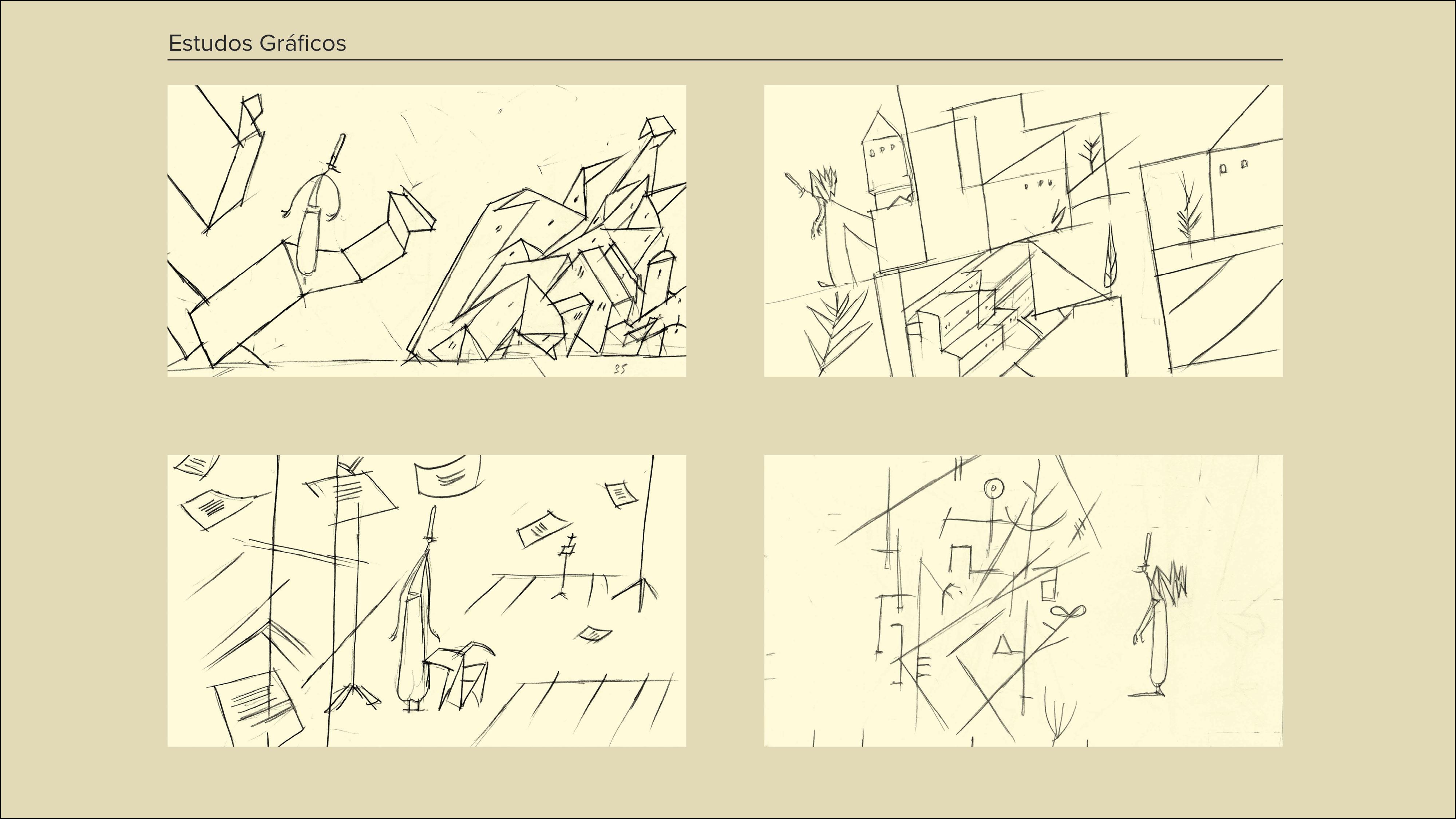 Montagem Desenhos a Cinzento7
