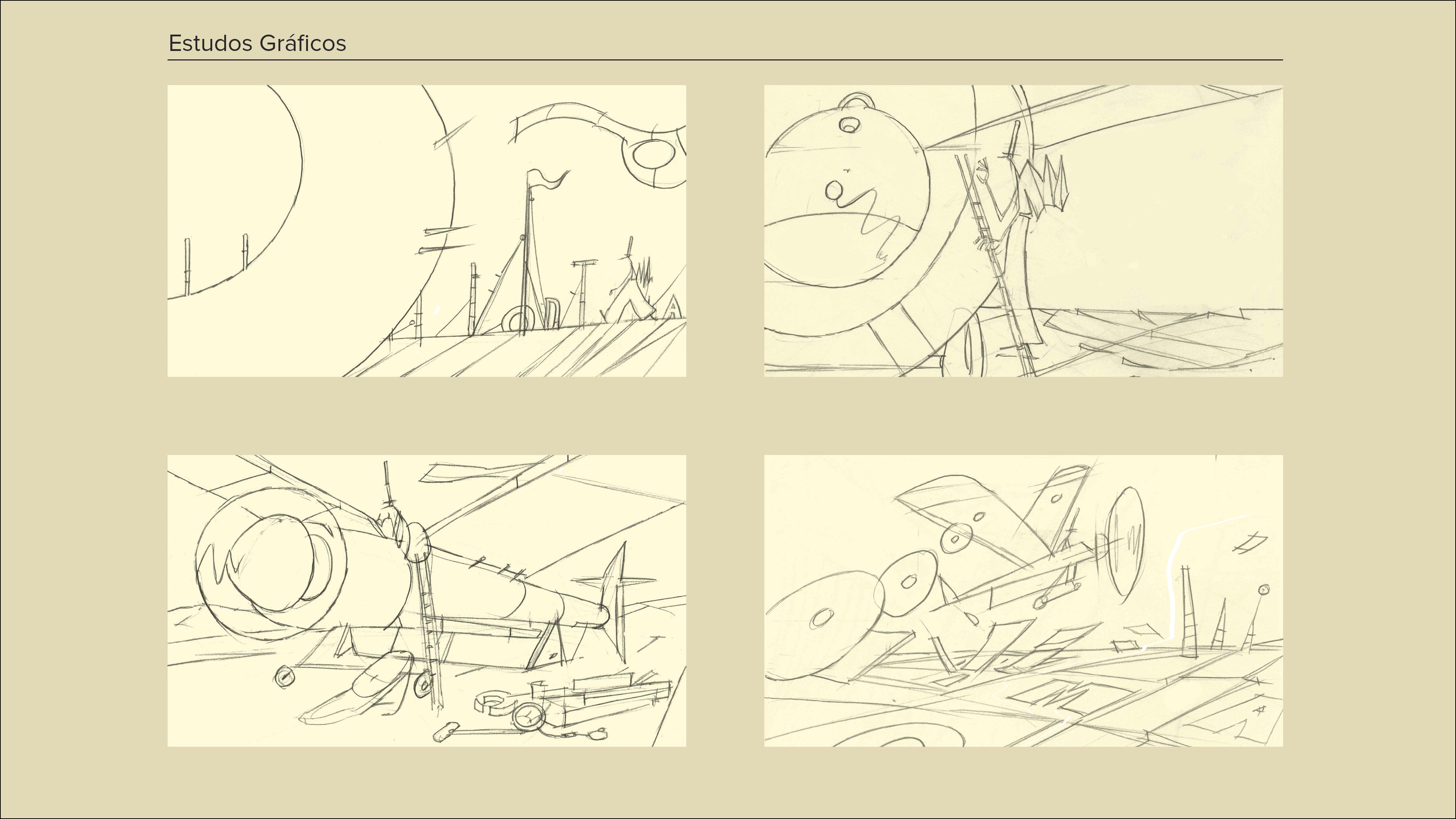 Montagem Desenhos a Cinzento9